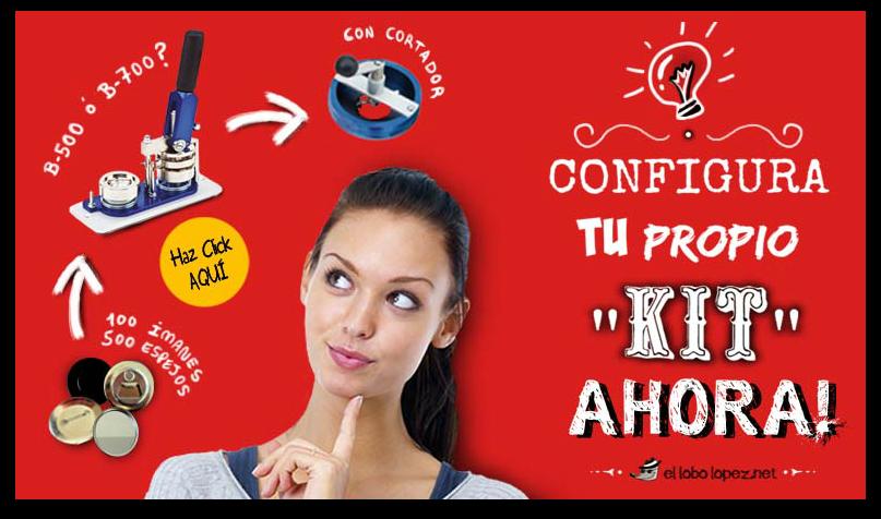 CONFIGURA TU KIT DE CHAPAS