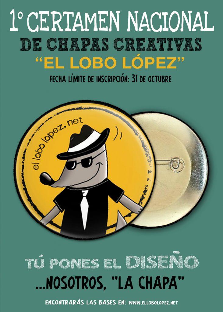 """1º Certamen Nacional de Chapas Creativas """"El Lobo López"""""""