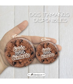 "CHAPA ""GALLETA CHOCOLATE"""