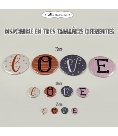 "IMANES ""LOVE"""