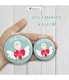 "CHAPA  ""BEBÉ ANGELITO"" (niño)"