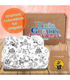 "KIT ""PINTA-CHAPAS"" INFANTIL (animales)"