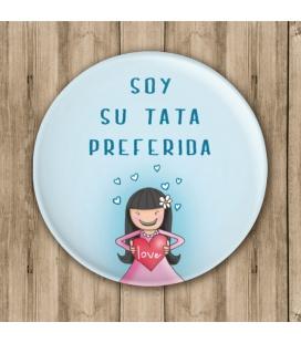 """CHAPA """"SOY LA TATA"""" (bautizo)"""