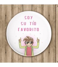 """CHAPA """"SOY SU TÍO"""" (bautizo)"""