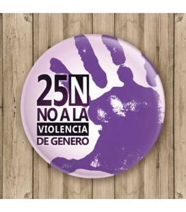 """CHAPA """"NO VIOLENCIA"""""""