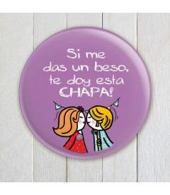 """CHAPA """"UN BESO"""" (cumpleaños)"""