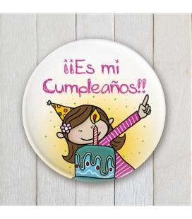 "CHAPA CUMPLEAÑOS ""TARTA"" (ella)"