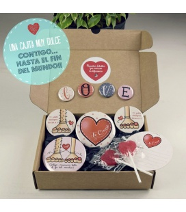"""LOVE-BOX"" CHAPAS CON AMOR"