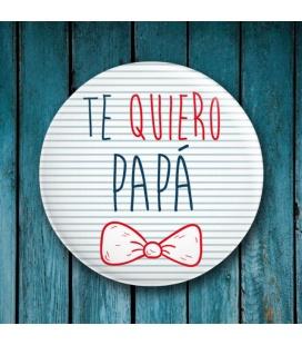 """CHAPA """"DÍA DEL PADRE"""" (Pajarita)"""