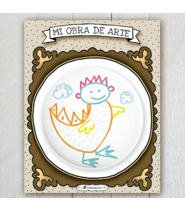 "CHAPA ""MI OBRA DE ARTE"" (personalizada)"