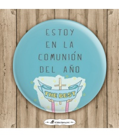 """CHAPA """"DEL AÑO"""" (comuniones)"""