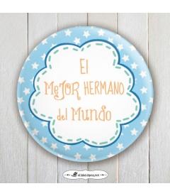 "CHAPA ""MEJOR HERMANO"""