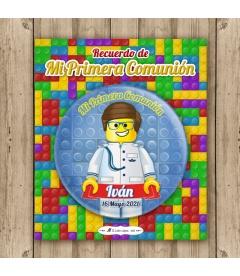 """CHAPA """"COMUNIÓN LEGO ALMIRANTE"""""""