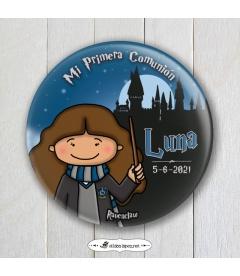 """CHAPA COMUNIÓN """"RAVENCLAW"""" Harry Potter (niña)"""