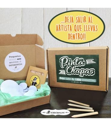 """KIT """"PINTA-CHAPAS"""" (artístico y libre)"""