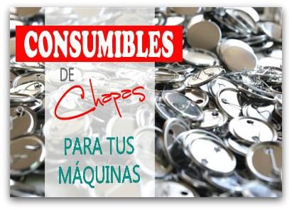Consumibles para Chapas Personalizadas